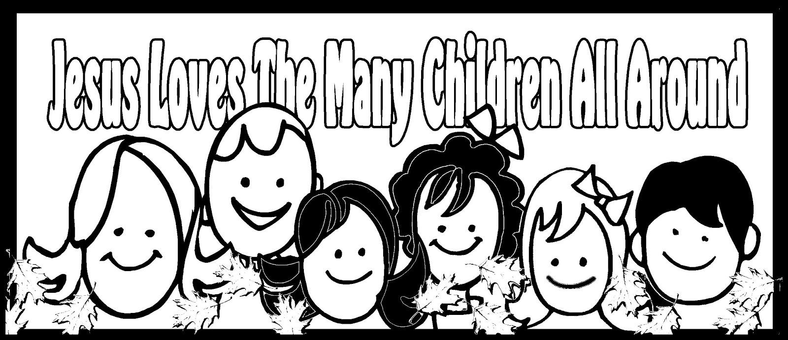 Children's Gems In My Treasure Box: Jesus Loves The Many