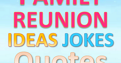 Book Release: Fun Family Reunion Ideas Jokes Quotes & Rhymes