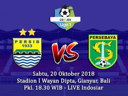 Persib VS Persebaya 20 Oktober 2018