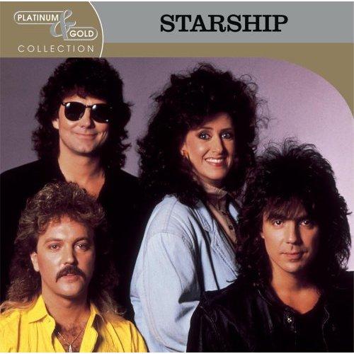 Jefferson Starship Gran Banda De Rock Y Pop De Los 8o S