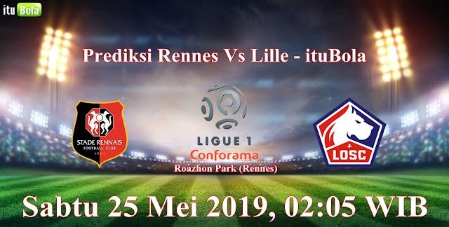 Prediksi Rennes Vs Lille - ituBola