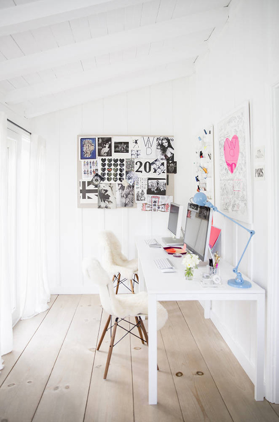 Home office inspiration | Image by Brittany Ambridge via Domino