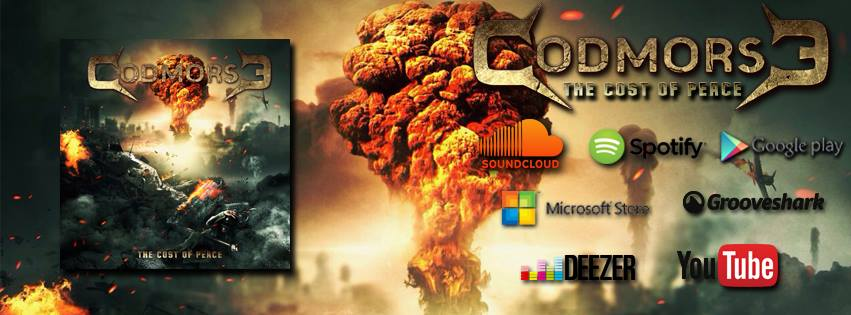"Codmorse: lançamento digital de ""The Cost Of Peace"""