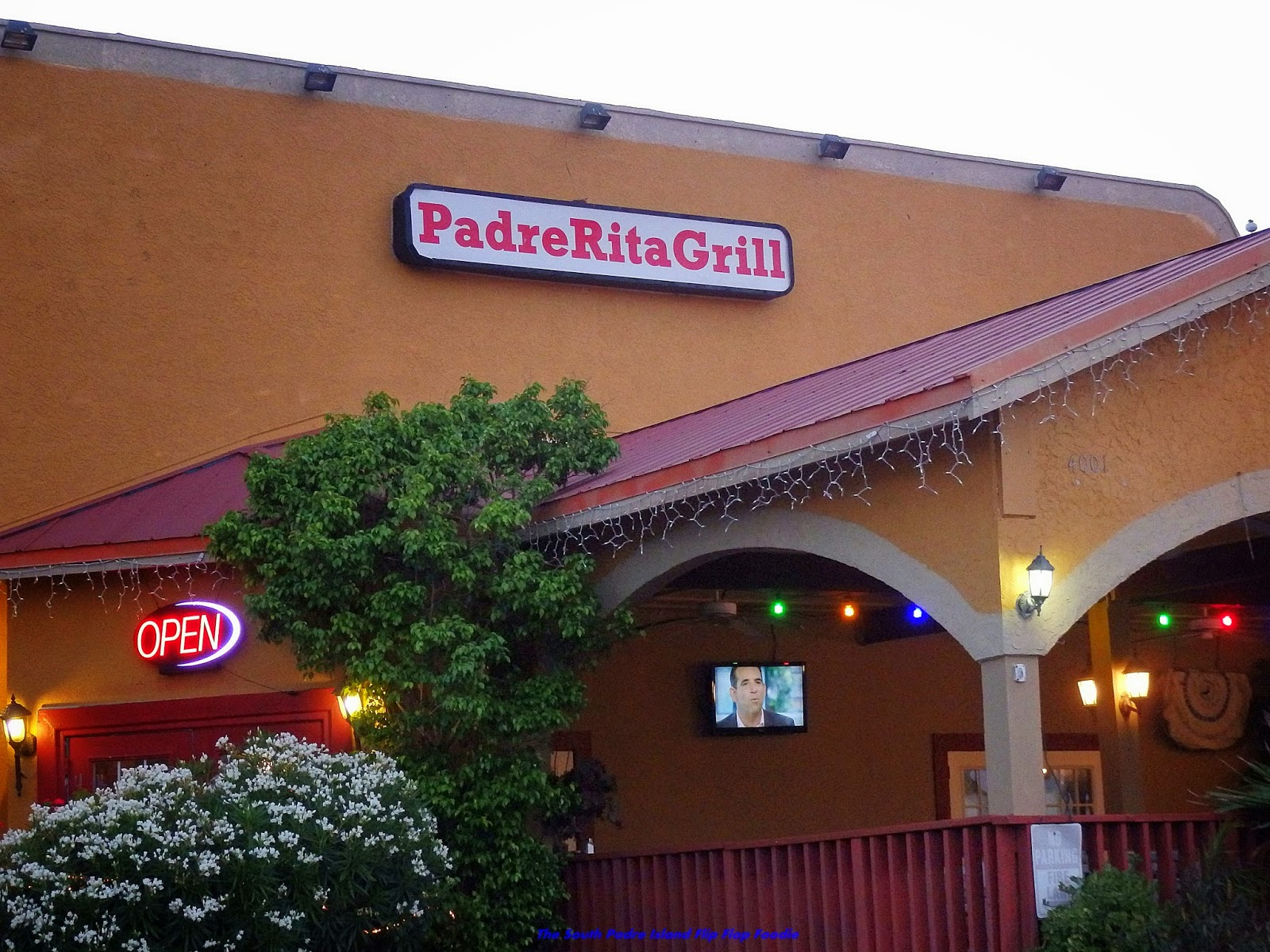 The South Padre Island Flip Flop Foodie World Famous