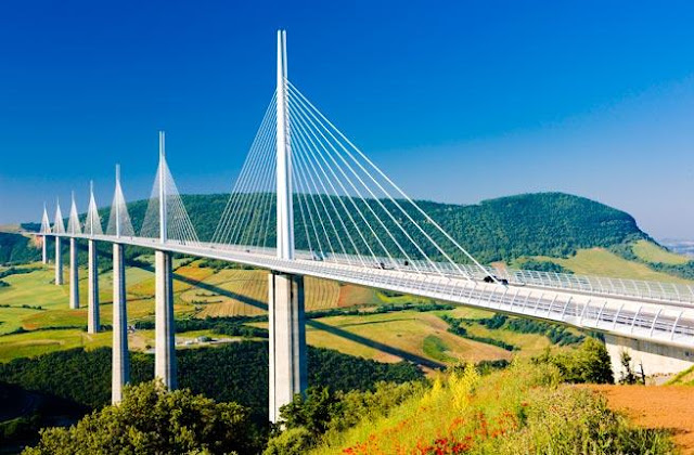 Millau Bridge, Creissels, France