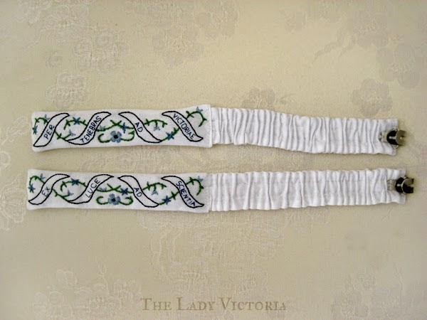 Reproduction: 18th Century Garters