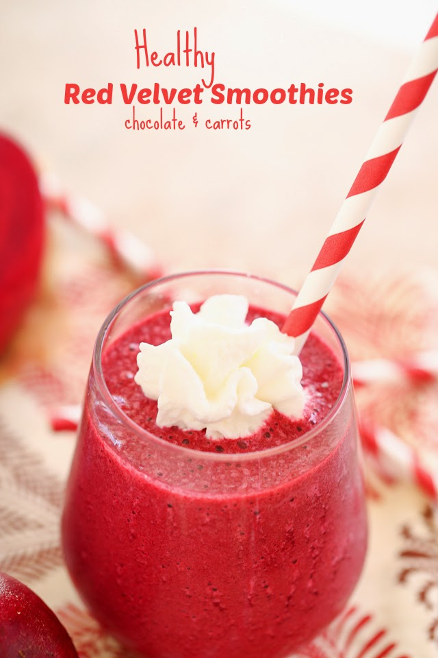 The smoothie craze ten epic but easy smoothie recipes for Easy red velvet cake recipe uk