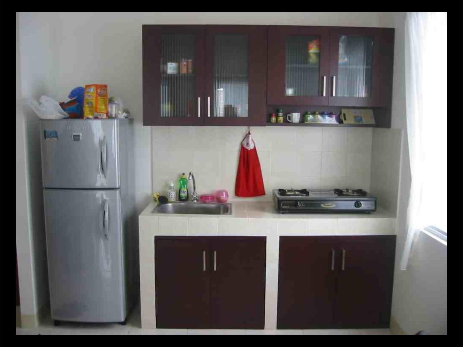 Dapur Minimalis 1.5 Meter