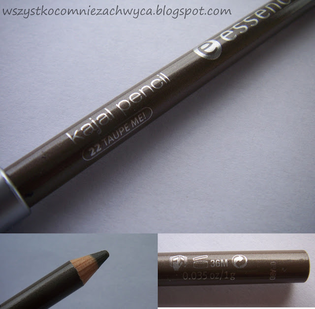 Essence, kajal pencil, 22 taupe me!