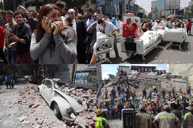Powerful 7.1 earthquake