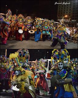 Desfile Inaugural del Carnaval. Uruguay. 2017.Murga Don timoteo