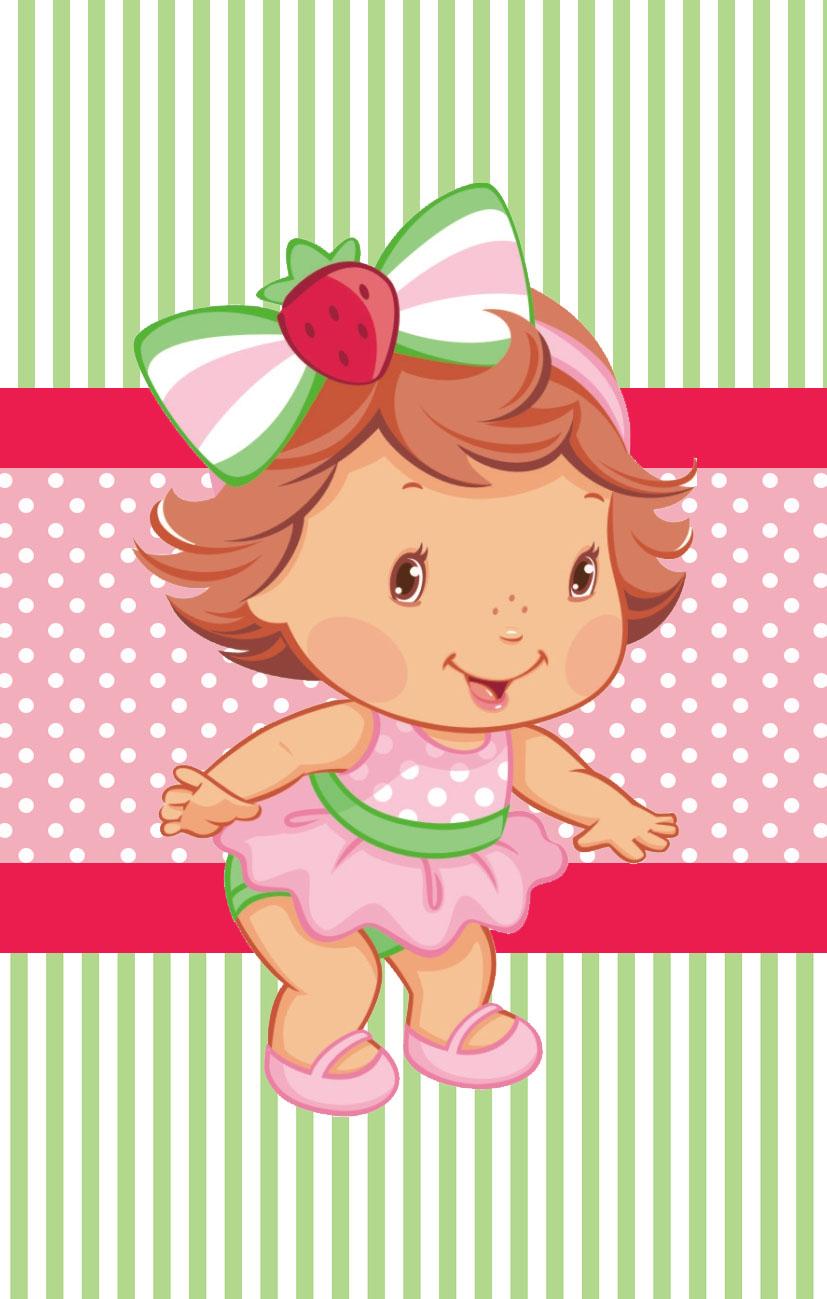 Kit Festa Pronta Moranguinho Baby Gratis Para Baixar Cantinho Do