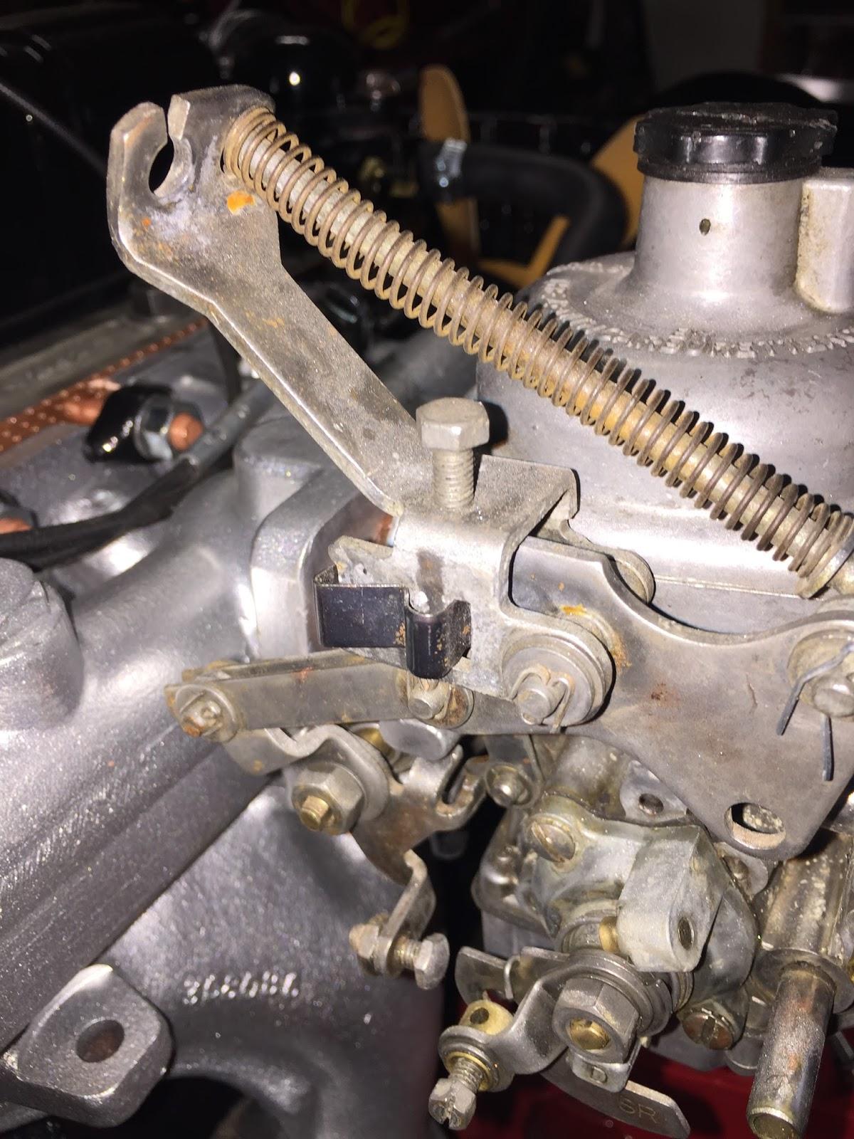 Engine Rebuild Part 29 Carburetor Choke Cable Radiator Overflow Zenith Stromberg Parts Diagram Besides Bottle 1973 Triumph Spitfire 1500 Project