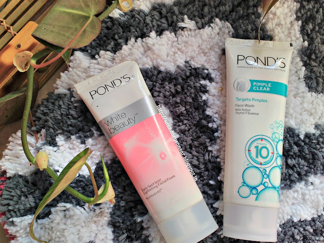 Ponds White Beauty and Ponds Pimple Clear face wash Reviews