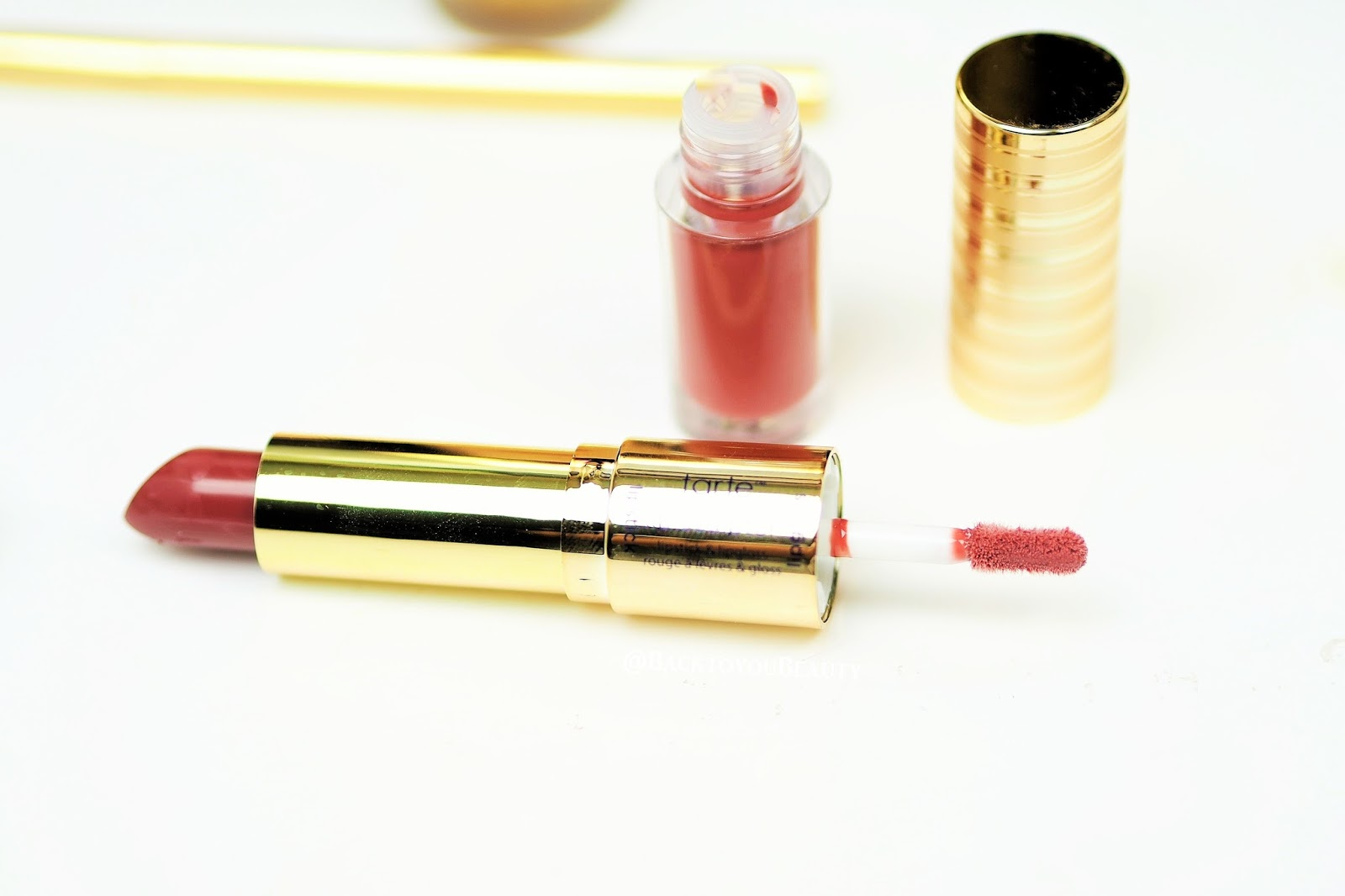 Tarte Double Ended Lipstick and Lipgloss in shade Sangria
