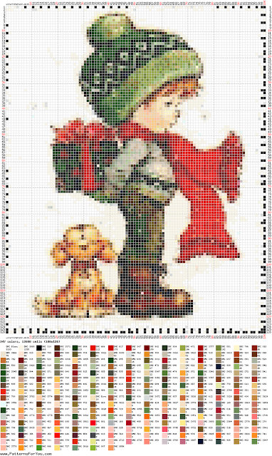 DIY Ponto Cruz - Cross Stitch Sara Kay 14