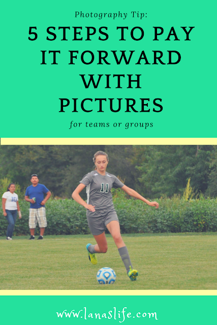 During this year's soccer season, I have discovered a very beautiful secret:  Pictures make people smile!  Are you a good photographer? Would you like to make a difference in the lives of young athletes?  I want to share with you a very simple way to share your gift with these young athletes that will keep on giving long after the last whistle/buzzer/horn sounds.