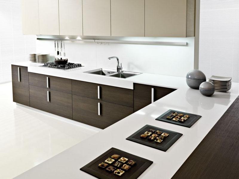 5 Gambar  Model Lemari Dapur  Minimalis