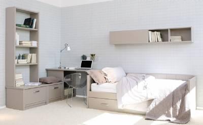 Dormitorios juveniles con 2 camas
