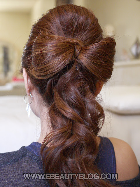 EbeautyBlog.com: Beautiful Wedding Hair Bow Tutorial