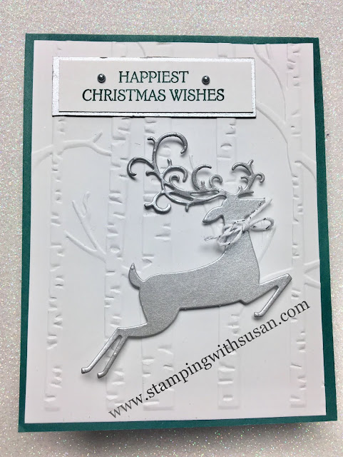 Stampin' Up!, Dashing Deer, Woodland, www.stampingwithsusan.com