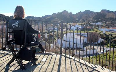 Barrio de las Cuevas en Guadix