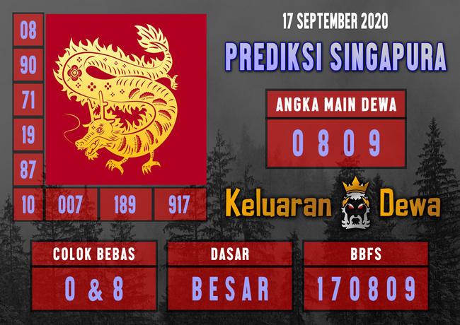 Kode syair Singapore Kamis 17 September 2020 184