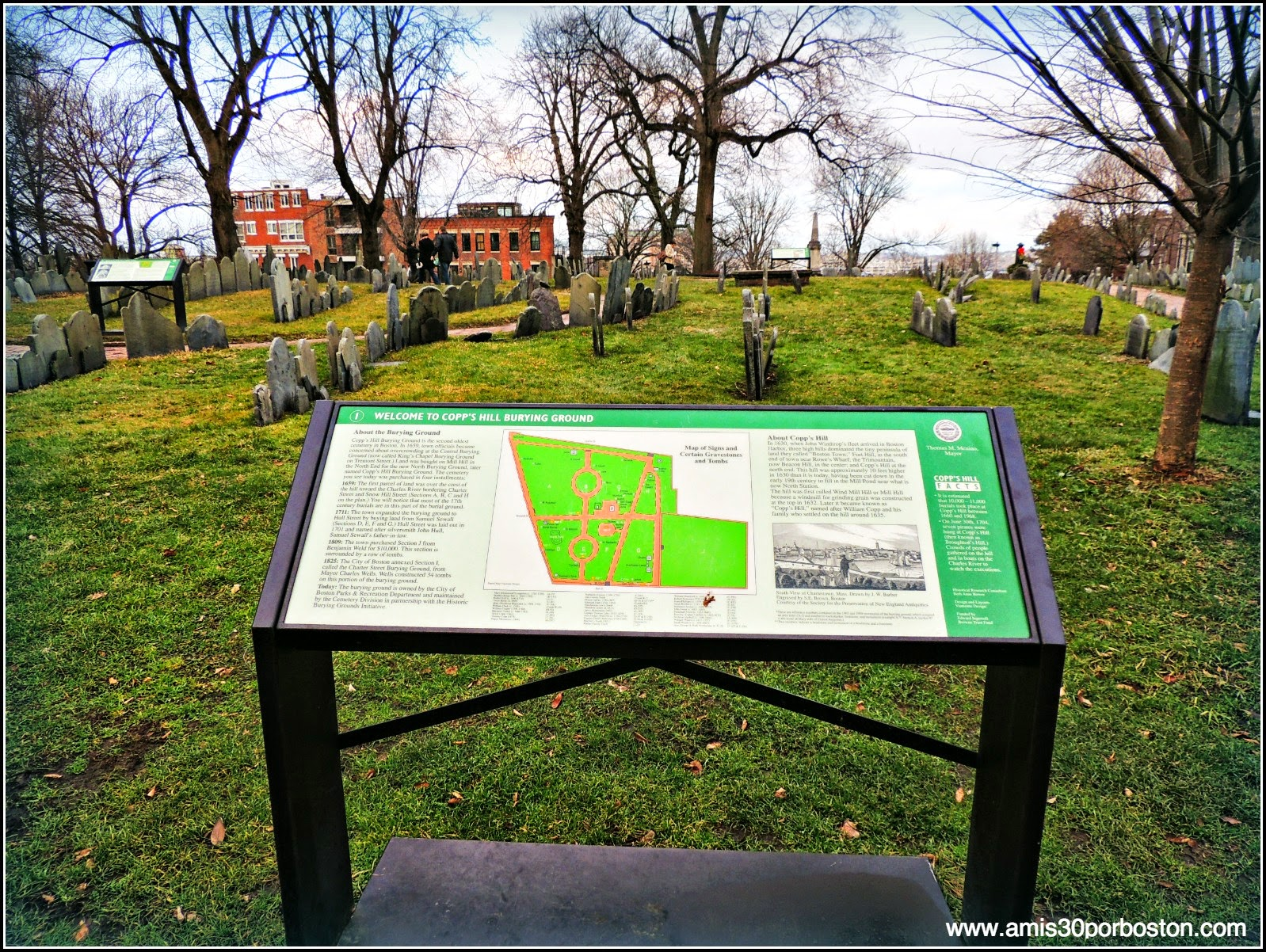 Copp´s Hill Burying Ground
