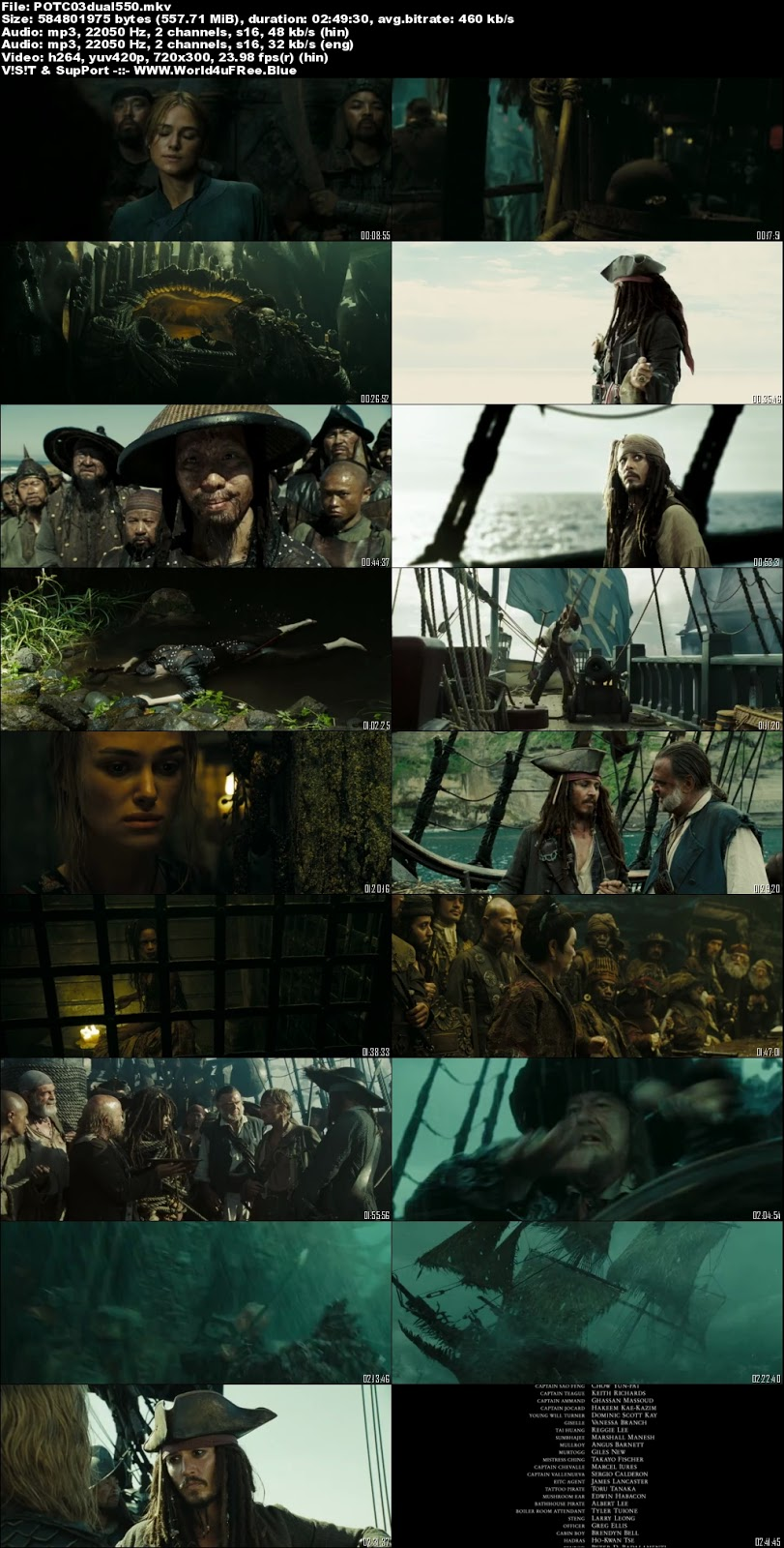 Pirates of the Caribbean: At World's End (2007) Full Movie in Hindi Dubbed | (Part 2) | 1080p