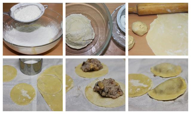 Raviolis con salsa a los 4 quesos paso a paso