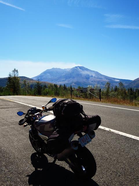 Aprilia Tuono Mount St Helens