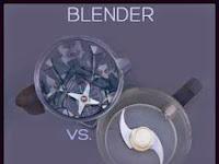 Perbedaan Antara Blender dan Food Processor