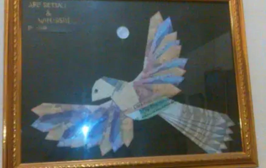 66 Gambar Rumah Gadang Origami HD Terbaru