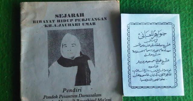 Kiai Jauhari Umar, Pindah dari Aliran Wahab menjadi Sarkub Manaqib