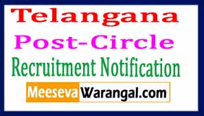 Telangana Post-Circle Recruitment Notification 2017 Posts 645