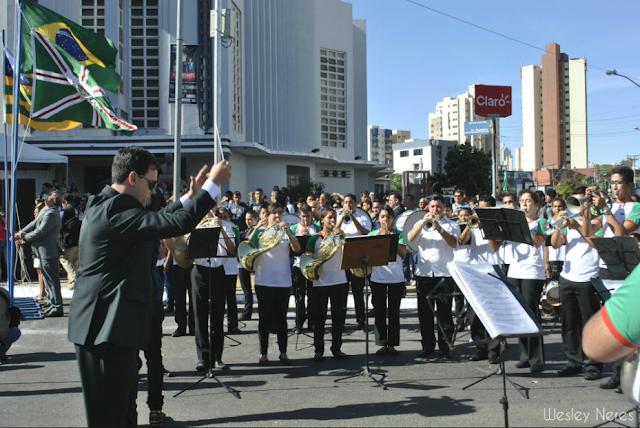 Desfile cívico comemora os 85 anos de Goiânia
