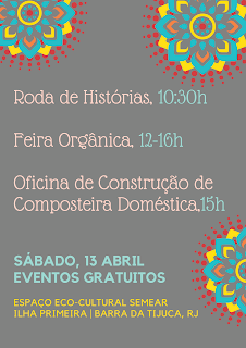 13 e 27 Abril: Feira Agroecológica