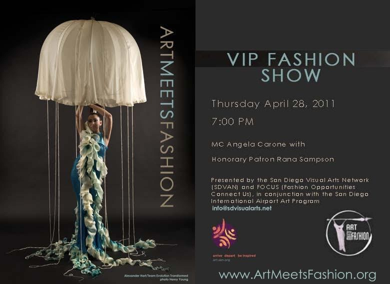 Hot Off The Bench Art Meets Fashion Vip Event Invitation