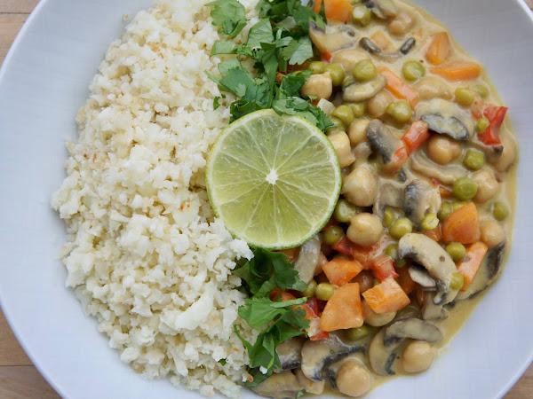 REZEPT: Gemüse-Kichererbsen Curry (glutenfrei + vegan)