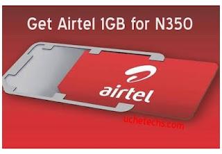 Get Airtel 1GB for N350