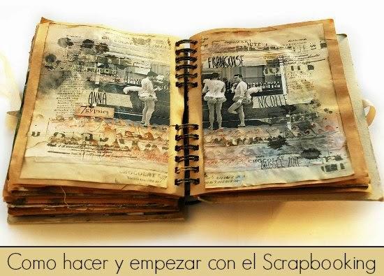 Enrhedando manualidades - Como hacer un libro antiguo ...