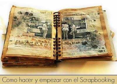 Como hacer y empezar con el Scrapbooking