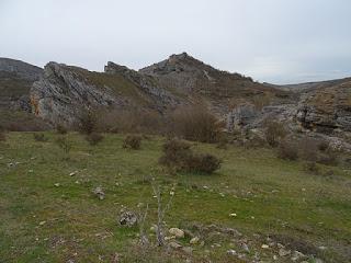 Formaciones geológicas. Geoparque de las Loras