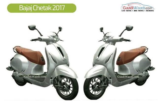 bajaj Chetak 2017