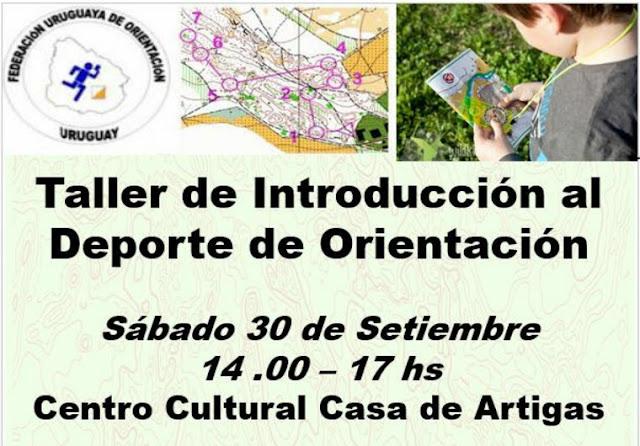 Taller de introducción al Deporte de Orientación en Sauce (sáb 30/sep/2017)