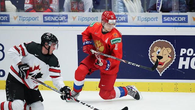 Хоккей: МЧМ-2020. Финал. Россия – Канада (5 января 2020) смотреть онлайн. Прямая трансляция