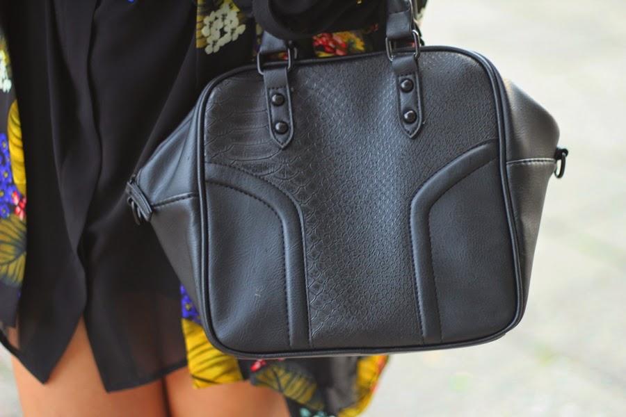 schwarze primark handtasche