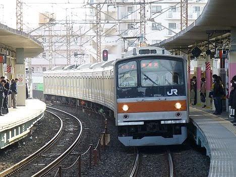 武蔵野線 東所沢行き2 205系5000番台(LED)