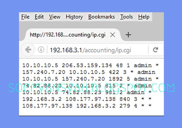 """Fitur Mikrotik """"IP Accounting"""""""