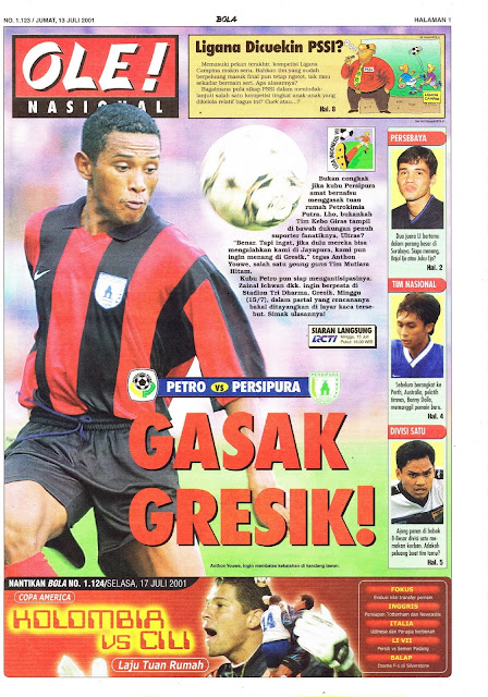 LIGA INDONESIA 2001 GRESIK